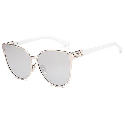 45795007be Horrenz Moda de Nueva gran tama?o del ojo de gato gafas de sol de las  mujeres ...