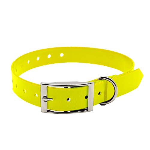 igingko Basic Dog Collar,Adjustable TPU E-Collar Collar Strap Band Buckle 3/4