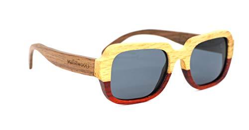 Óculos De Sol De Madeira Lehder, MafiawooD