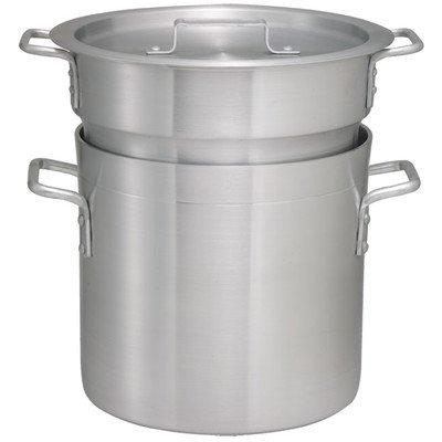 Winco ALDB-12 Aluminum Double Boiler Set, 12-Quart by Winco
