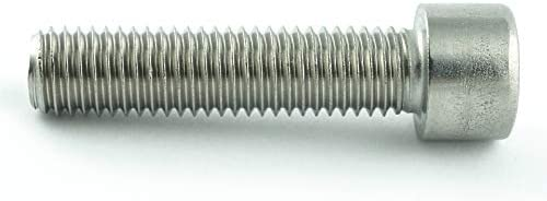Gewindeschrauben DIN 912 Zylinderschrauben mit Innensechskant M10 x 16 mm Eisenwaren2000 20 St/ück - Zylinderkopf Schrauben ISO 4762 Edelstahl A2 V2A- rostfrei