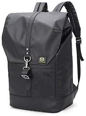 44fadfd3aaf7 Laptop Backpack 40L - No Limit Vintage Leather Trim Backpack + Designer Key  Ring