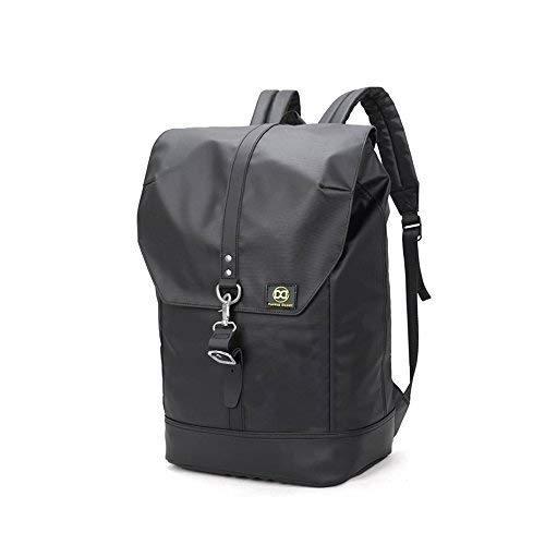 Laptop Backpack 40L - No Limit Vintage Leather Trim Backpack + Designer Key  Ring  bab5408baa9a9