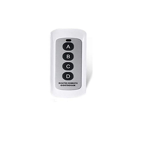White RC EU UK Standard Eruiklink 1 2 3 Gang RF433 Remote Control Wall Touch Switch,Wireless Remote Control Light Switches Smart Home  (color  1gang Switch)