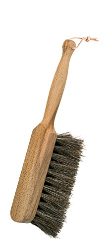 Redecker Horsehair Children's Hand Brush with Oiled Beechwood Handle, 8-1/4-Inches
