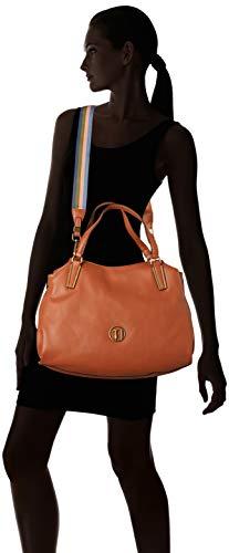 leather H 39x20x13 Marrone Jeans Cm 75b00428 w 9y099999 Tote L X Donna Borsa Trussardi 74xOYvqwY