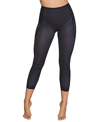 Miraclesuit Rear & Thigh Firm Control Pant Liner, L, Black