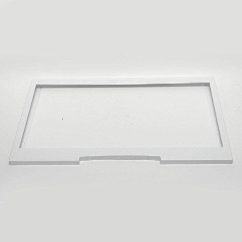 (241802206 Refrigerator Crisper Drawer Cover Upper Frame Genuine Original Equipment Manufacturer (OEM) Part)