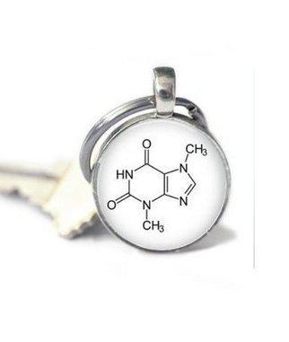 Joyería química, cadena de plata bioquímica para llaves ...