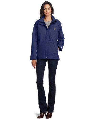 Carhartt Women's Waterproof Cascade Jacket,Patriot Blue  (Closeout),X-Small from Carhartt