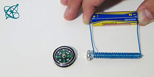 und NaWi-Unterricht YAXA Minikompasse 2cm f/ür Experimente im Physik