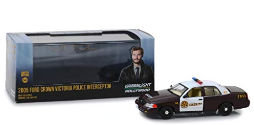 - 2005 Ford Crown Victoria Police Interceptor Storybrooke (Sheriff Graham's) from Once Upon a Time (2011) TV Series 1/43 Diecast Model Car by Greenlight 86525