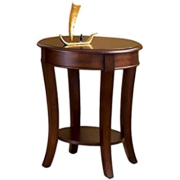 Amazon Com Steve Silver Company Troy Round End Table