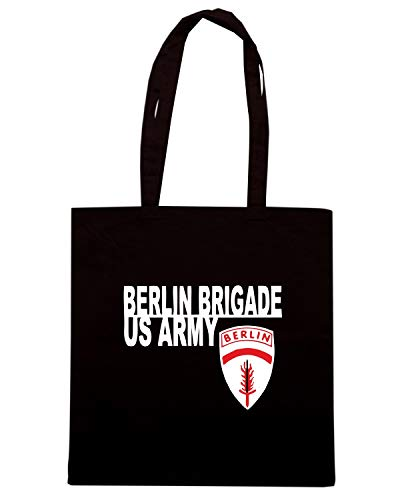 Speed Shirt Borsa Shopper Nera OLDENG00685 THE BERLIN BRIGADE