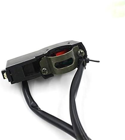JPLJJ オートバイ ハンドルバースイッチ 多機能 ヘッドライト ホーンバイク アクセサリー ボタン スイッチ