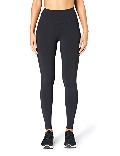 Core 10 Women's Onstride Run High Waist Tight, Black, Medium-Short