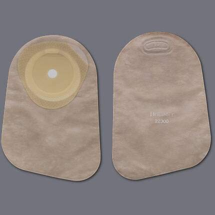 HOLLISTER Colostomy Pouch Premier One-Piece System 9'' Length 1'' Stoma Closed End (#82325, Sold Per Box)