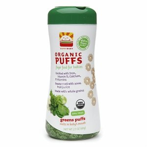 Happy Family Puffs - Green - 2.1 oz - 3 pk