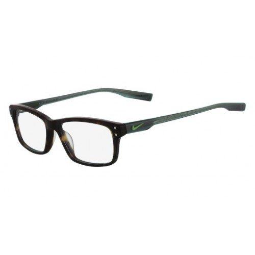Eyeglasses NIKE 7231 200 MATTE TORTOISE-GREEN STRIKE
