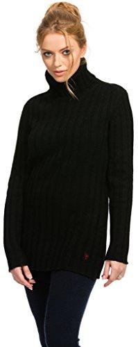 Citizen Cashmere Turtleneck Sweater - 100% Tibetan Yak Wool (41 124Y-02-01), S