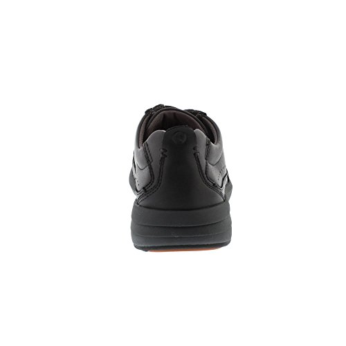 Leather Clarks Form Black Un Coast UxYnqOvaw7