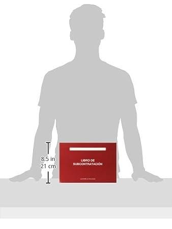 Libro de subcontrataci/ón A4 Marino 152809