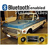 (Bluetooth Enabled '67-'72 Chevy Truck 300w Slidebar AM FM Car Stereo/Radio)