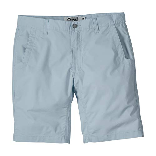 Mountain Khakis Mens Stretch Poplin Short Relaxed Fit: Outdoor Hiking Casual Shorts, Breeze, 38W 10In