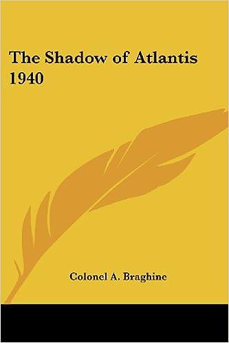 Read The Shadow of Atlantis 1940 PDF, azw (Kindle)