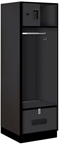 Salsbury Industries Open Access Designer Wood Locker, 24-Inch, ()