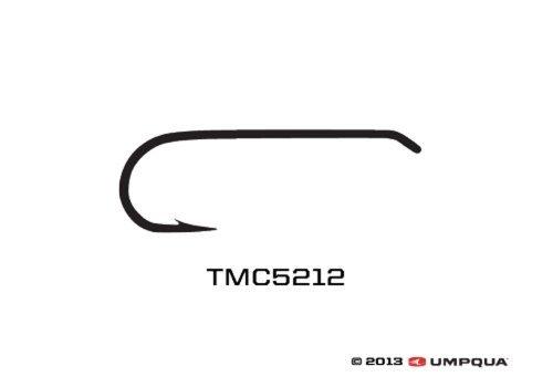 Tiemco Fly Tying Hook TMC 5212 Size 10 25PK ()