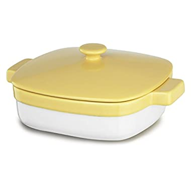 KitchenAid KBLR19CRBF Streamline Ceramic 1.9-Quart Casserole Bakeware - Buttercup