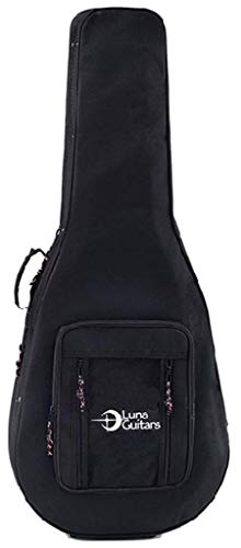Luna LLFP Lightweight Case for Folk or Parlor Sized Guitars