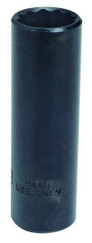 Stanley Proto J5032B 3/8-Inch Drive Deep Socket 1-Inch 12 Point Black Oxide [並行輸入品] B078XL35NQ