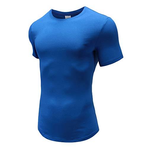 Courtes À Manches Automne Pull Chemisier Morchan Bleu Top Carreaux D'été Hommes Personnalité Shirt T xqCwHpZY