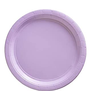 """Big Party Pack Lavender Paper Plates   9""""   Pack of 50   Party Supply (B004UPYMMS)   Amazon price tracker / tracking, Amazon price history charts, Amazon price watches, Amazon price drop alerts"""