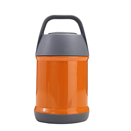 Irene Water Cups Vacuum Insulated Food Container Stainless Steel Insulated Food Braised (Orange) from Irene