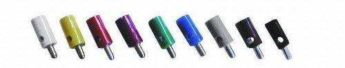 Noir VS Electronic 331013/horizontal trou Plugs 2.6/mm de longueur