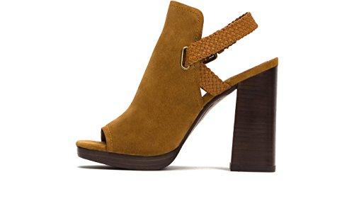 FRYE Womens Karissa Braid Shield Cognac 6CbO59XK5O