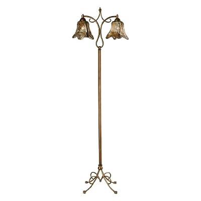Dimond Lighting D2423 Hillsboro Floor Lamp, Gold