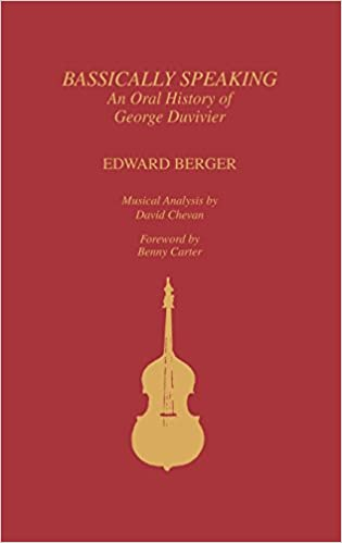 Bassically Speaking: An Oral History of George Duvivier