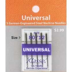 Klasse' Universal Needles Size 80/12