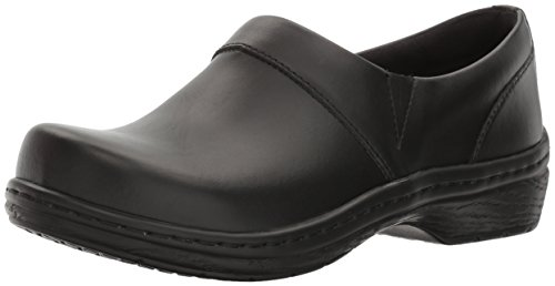 Footwear Mission Black Clog Smooth Women's Nursing Back KLOGS Closed 6w7Ed6q