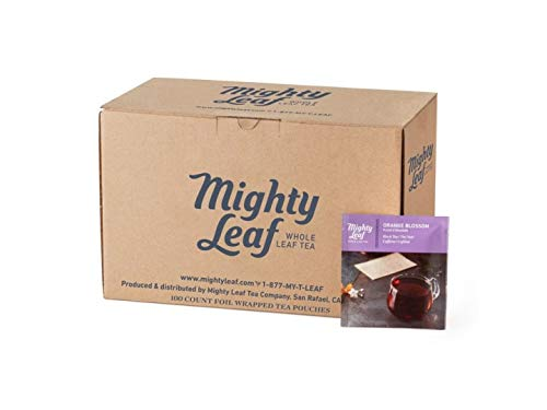 Mighty Leaf Tea Orange Blossom (Formerly Orange Dulce), 100 Foil Wrapped Tea Pouches by Mighty Leaf Tea