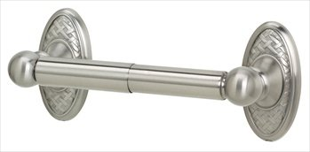 - Alno A8160-SN Classic Weave Toilet Tissue Holder