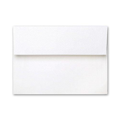 15 Square Flap 4bar Stardream Crystal Shimmer Envelopes (Stardream Shimmer Envelope)