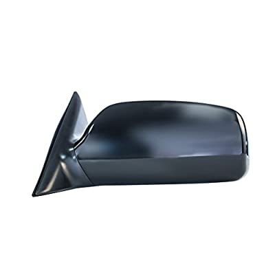 Driver Side Mirror for Toyota Camry (2007 2008 2009 2010 2011) Power Adjusting Unpainted Left Non-Heated Non-Folding Outside Rear View Replacement Door Mirror - TO1320215: Automotive