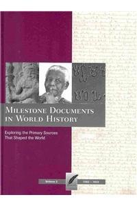Books : Milestone Documents in World History, Volume 2