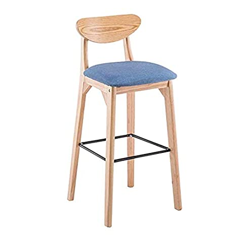 Tremendous Amazon Com Cyhwdhw Wooden Bar Stool Counter Height Bar Dailytribune Chair Design For Home Dailytribuneorg
