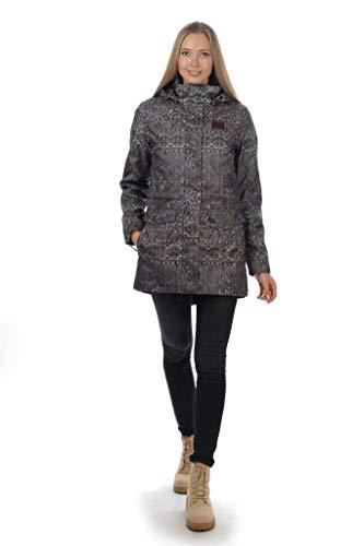 D'hiver Anorak Veste Femme Gris Long Thermique Respirant Manteau Anthracite Stayer Imperméable Pour K1qHxU
